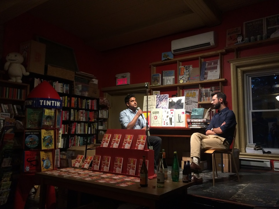 Event recap: Naben Ruthnum launches Curry: Eating, Reading and Race