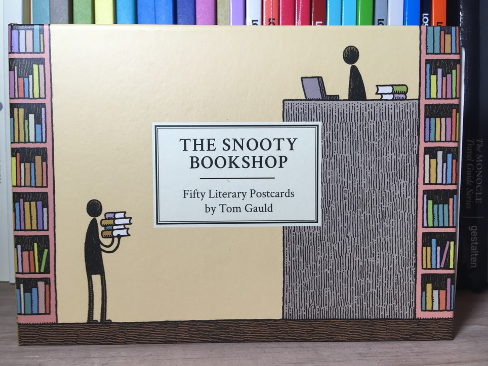 New D+Q: The Snooty Bookshop by Tom Gauld