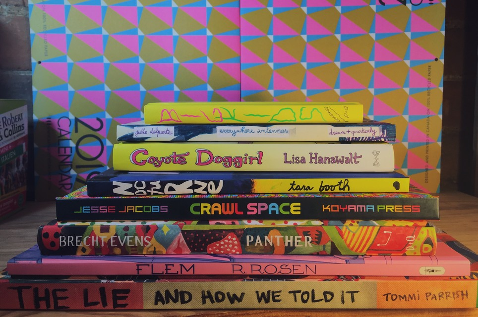Have a Look: Colourful Graphic Novels