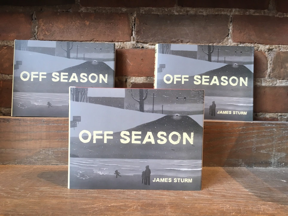 New D+Q: Off Season by James Sturm!