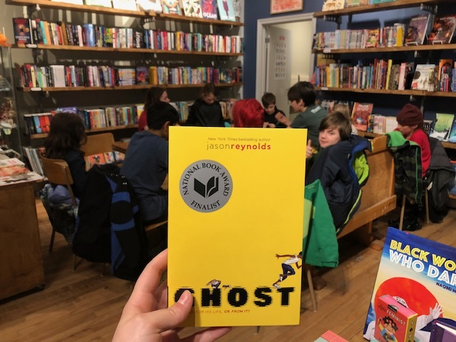 Young Readers Book Club: Ghost by Jason Reynolds!