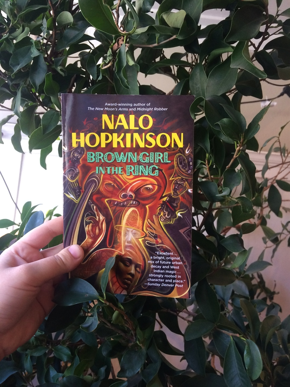 """Sci-fi and Fantasy are the only genres that realistically depict the lives of marginalized people - Nalo Hopkinson"": Strange Futures reads Brown Girl in the Ring"