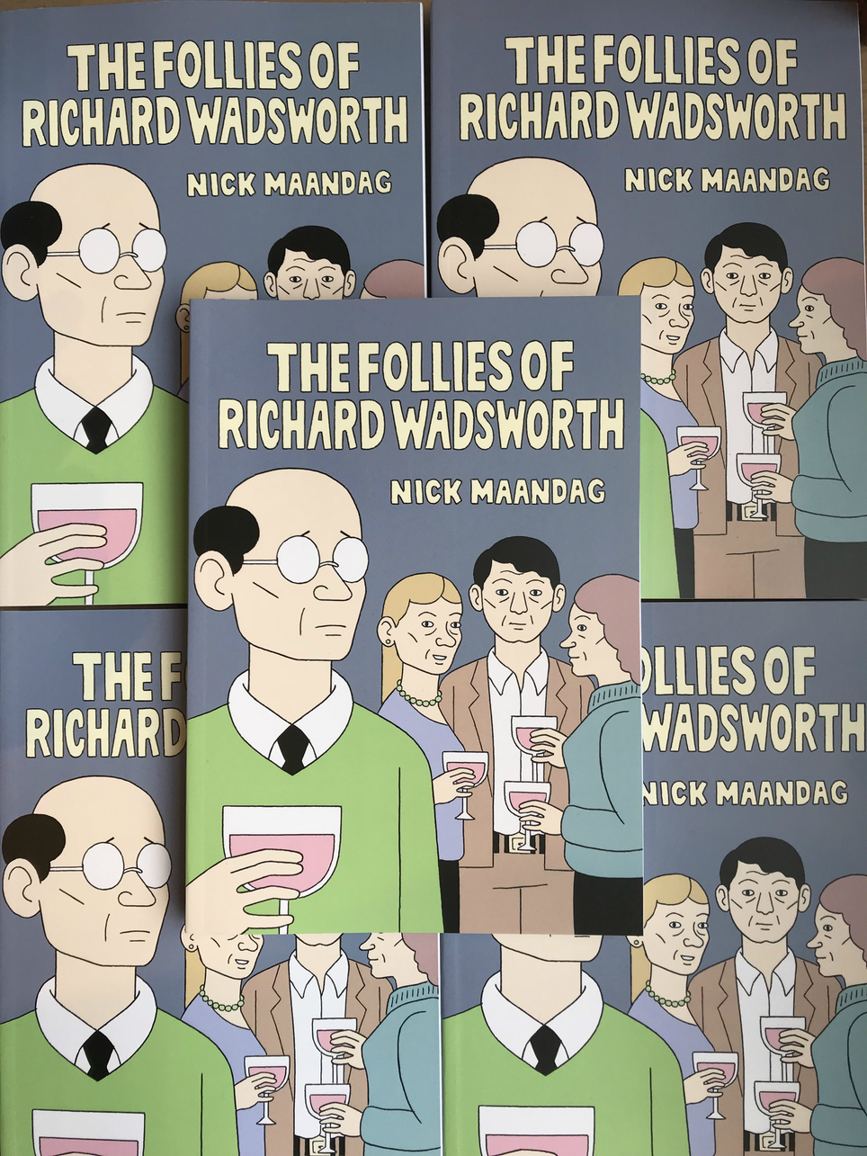 New D&Q: Nick Mandaag's The Follies of Richard Wadsworth is out now