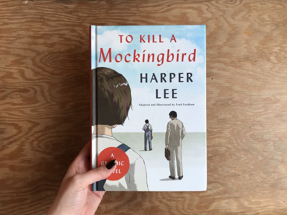Young Readers Bookclub met to discuss To Kill a Mockingbird, the graphic novel