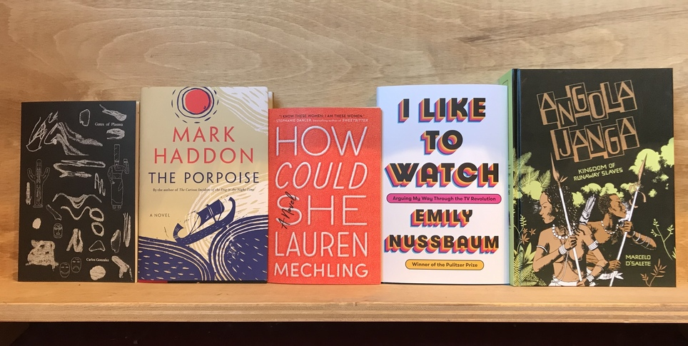 D+Q Picks of the Week: Mark Haddon retells a myth, escaped slave history, surreal graphic romance, and more!
