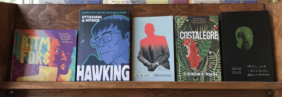 D+Q Picks of the Week: gentrification horror, New Directions reprints, the life of Stephen Hawking, and more!