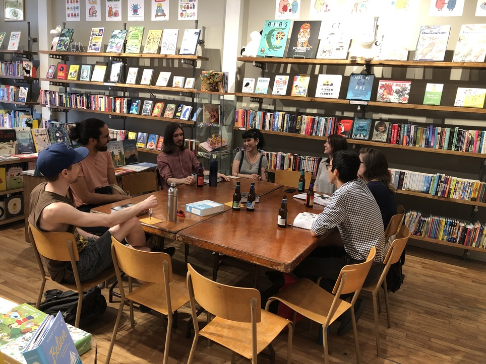 Recap - Graphic Novel Book Club: Leaving Richard's Valley
