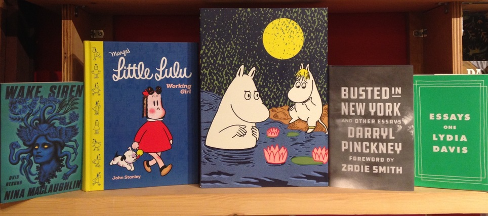 D+Q's Picks of the Week: Lars Jansson's Moomin, Lydia Davis, Little Lulu and more!