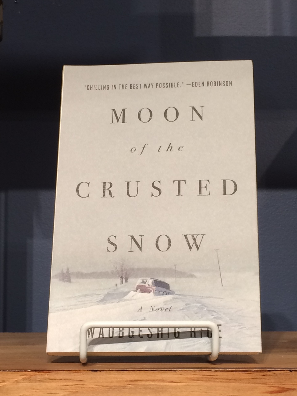 Strange Futures Book Club : Moon of the Crusted Snow by Waubgeshig Rice