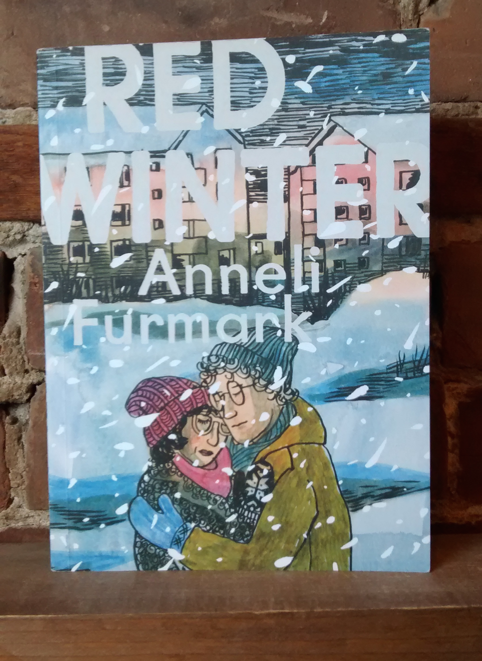 New D+Q: Red Winter by Anneli Furmark